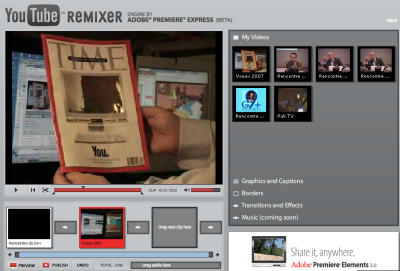 Adobe remixer