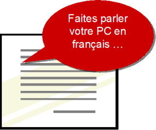 Faites parler votre PC en français !|ou comment utiliser simplement la synthèse vocale.