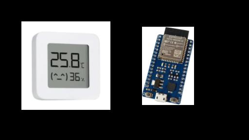 Capteur thermomètre hygromètre
