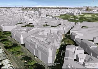 Google Earth immeubles 3D