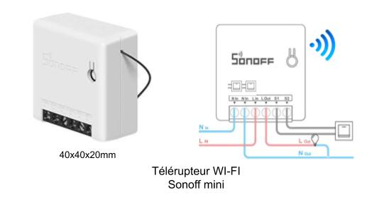 Télérupteur Sonoff
